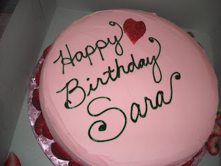 Happy Birthday Sara Cake Gems And Other Sweet Things
