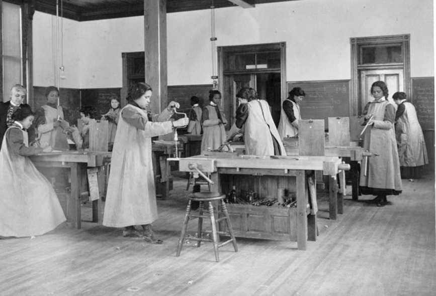 woodworking school for black young women vocational school for boys ...