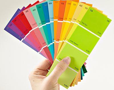 Perkhidmatan mengecat rumah tips choosing indoor paint colors for Muestras de colores de pintura