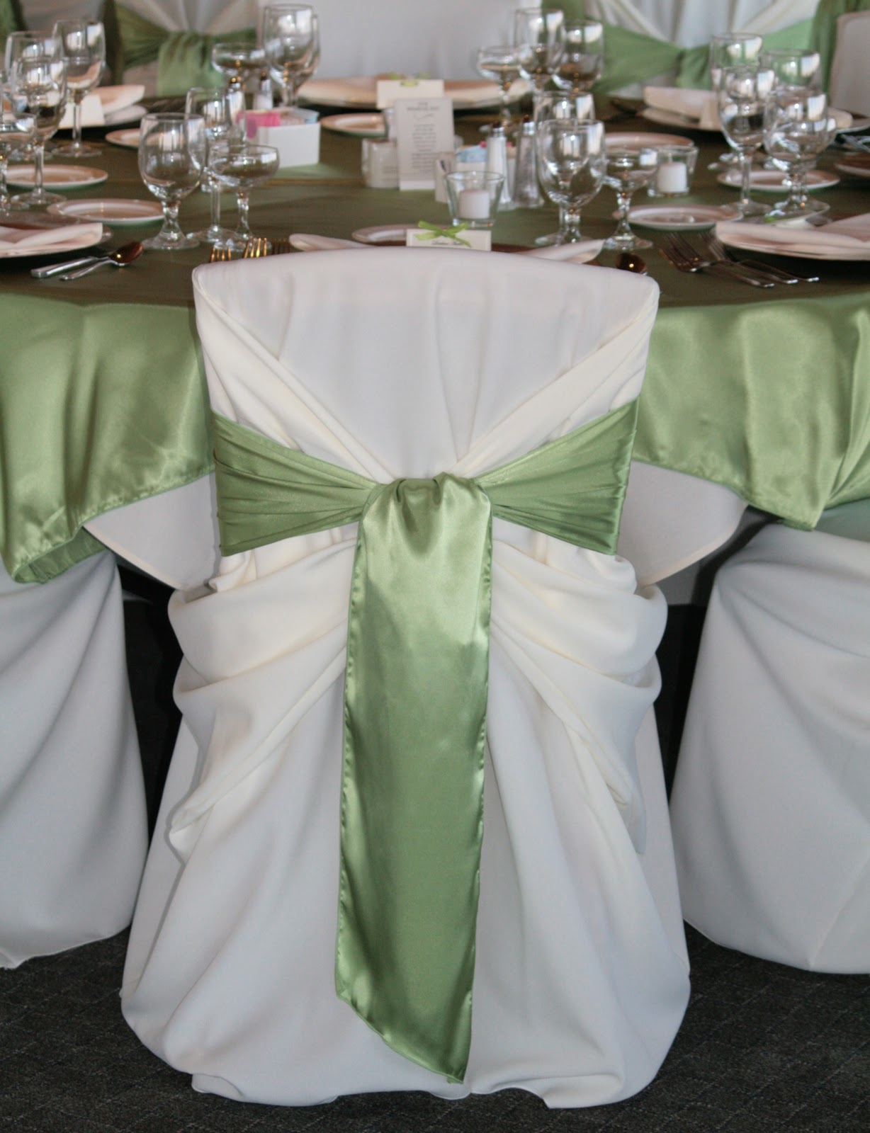 mint chair sashes stools with backs brown bunny flowers september 18 2010 julie and jason