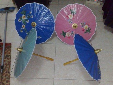 payung kertas khas rajapolah