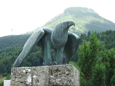 Nazi eagle in Berchtesgaden