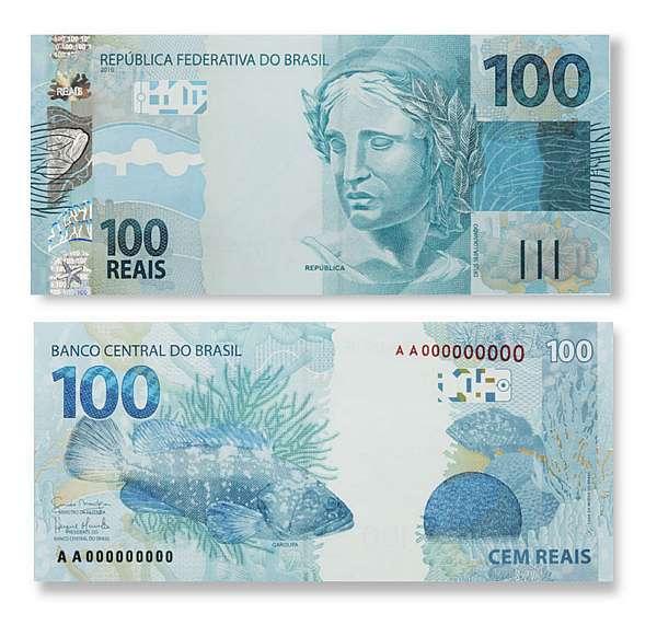 100 reais para euros