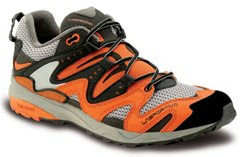 La Sportiva Fireblade mens orange and gray