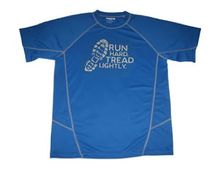 Atayne Run Hard Tread Lightly performance shirt