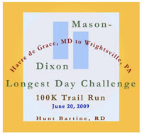 Mason Dixon Longest Day 10k trail run