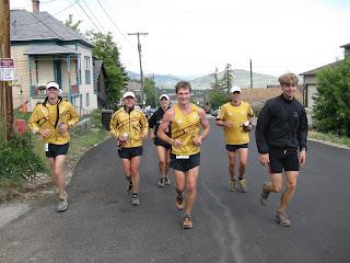 Jupiter Peak Steeplechase La Sportiva team Nelson Kimmel Caitlin Smith Bryant Mitchell Shiloh Mielke