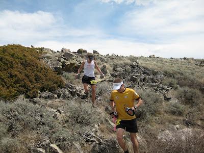 Krissy Moehl Luke Nelson Pocatello 50 mile