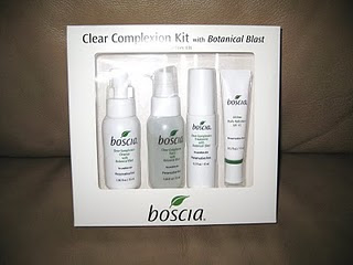 Beauty Babble Review Boscia Skin Care Clear Complexion Kit