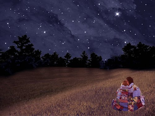 Gazing at the summer stars