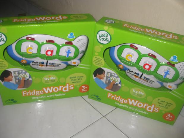 Mesya & Baby Wardrobe Leapfrog Fridge Words - Magnetic Word Builder