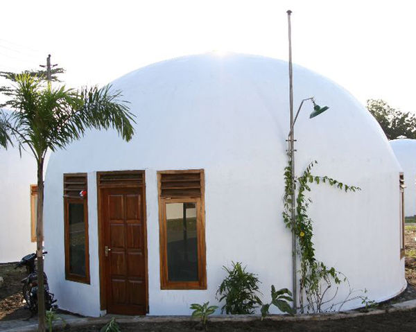 Build Concrete Dome House