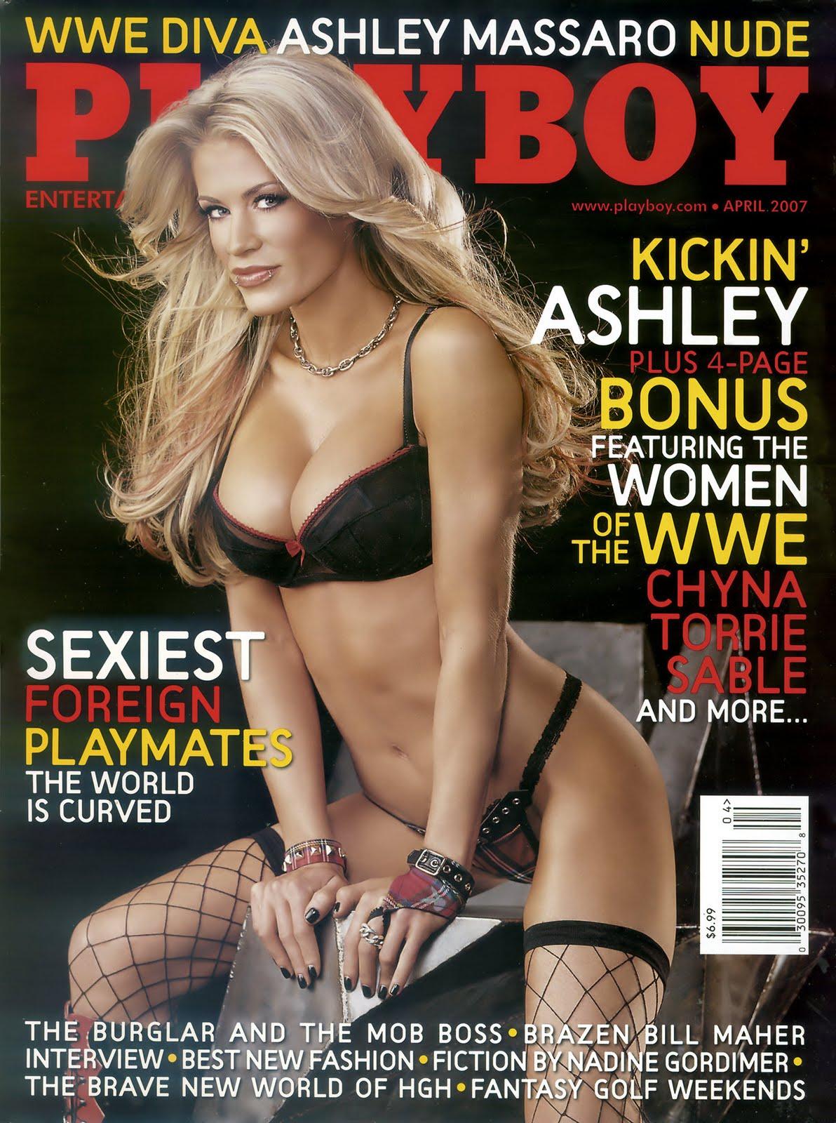 Stars Ashley Massaro Nude Playboy Photos Photos