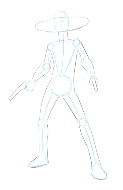 Patrick's Awesome Reviews: How to draw Cad Bane.