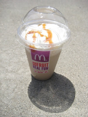 Review Mcdonald S Caramel Frappe Brand Eating