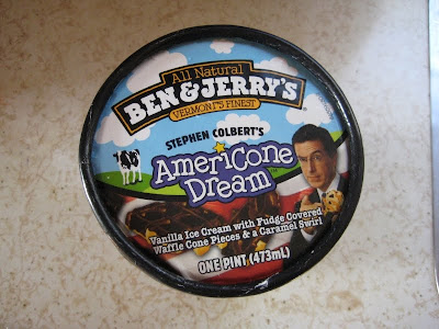 Review Ben Jerry S Americone Dream Brand Eating Stephen colbert's live showtime election special took on a very somber tone when it became evident that donald trump was going to be named the president elect of the united states. review ben jerry s americone dream