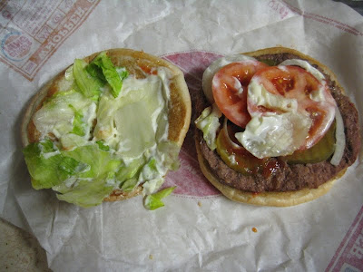 Inside the Burger King Whopper