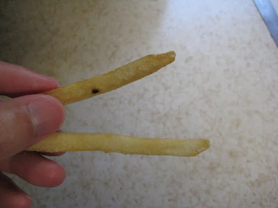 McDonald's versus Jack in the Box's fries