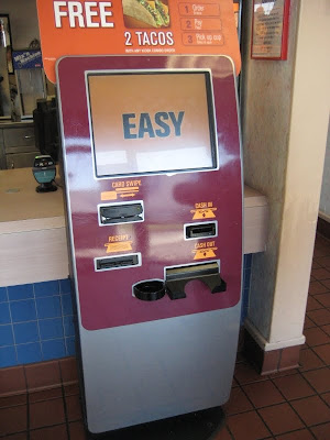 Jack in the Box Self-Service Kiosk