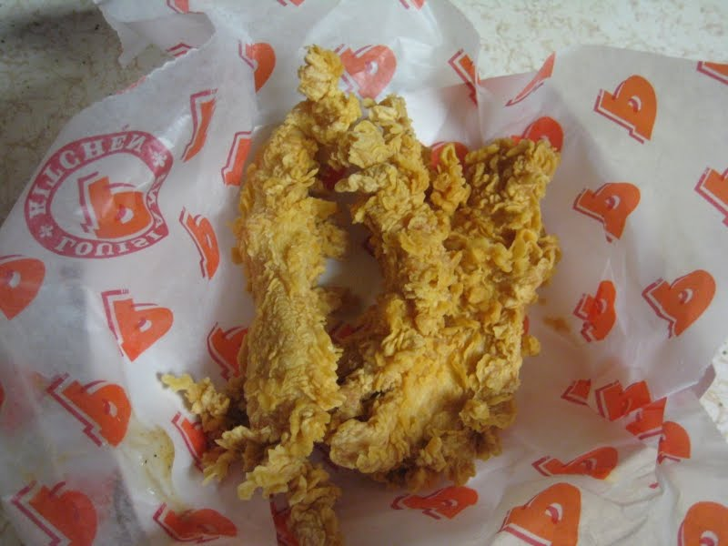 review popeyes louisiana tenders - Popeyes Louisiana Kitchen Spicy Chicken Breast