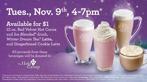 News The Coffee Bean 1 Holiday Drinks On November 9th Brand Eating