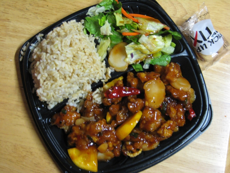 Review Pick Up Stix Orange Peel Chicken Dragon Deal Brand Eating