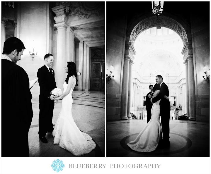 Sf City Hall Wedding Photography: Napa Sonoma San Francisco Romantic Wedding Photography