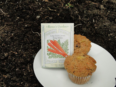 Recipe For Carrot Muffins. Has pineapple, raisins and spiced with cinnamon and ginger.