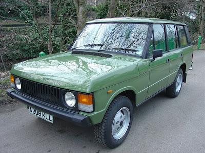 RCS Wish List: 1984 Range Rover