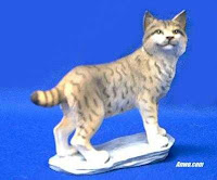 bobcat figurine statue
