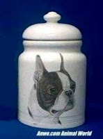 Boston Terrier Cookie Jar