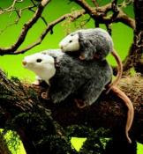 opossum puppet folkmanis