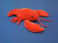lobster plush stuffed animal