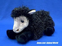 black sheep plush stuffed animal bah bah