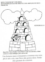 Departamento Infantil Tniinfantil Para Colorir Torre De Babel