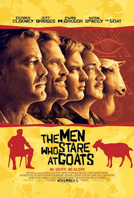 Men Who Stare At Goats - Filmposter