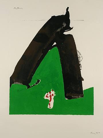 Art Admiring Robert Motherwell
