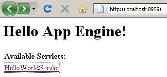 Java Padawan - Programmer's Journal: App Engine Tutorial : Creating