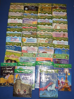 How many magic treehouse books are there