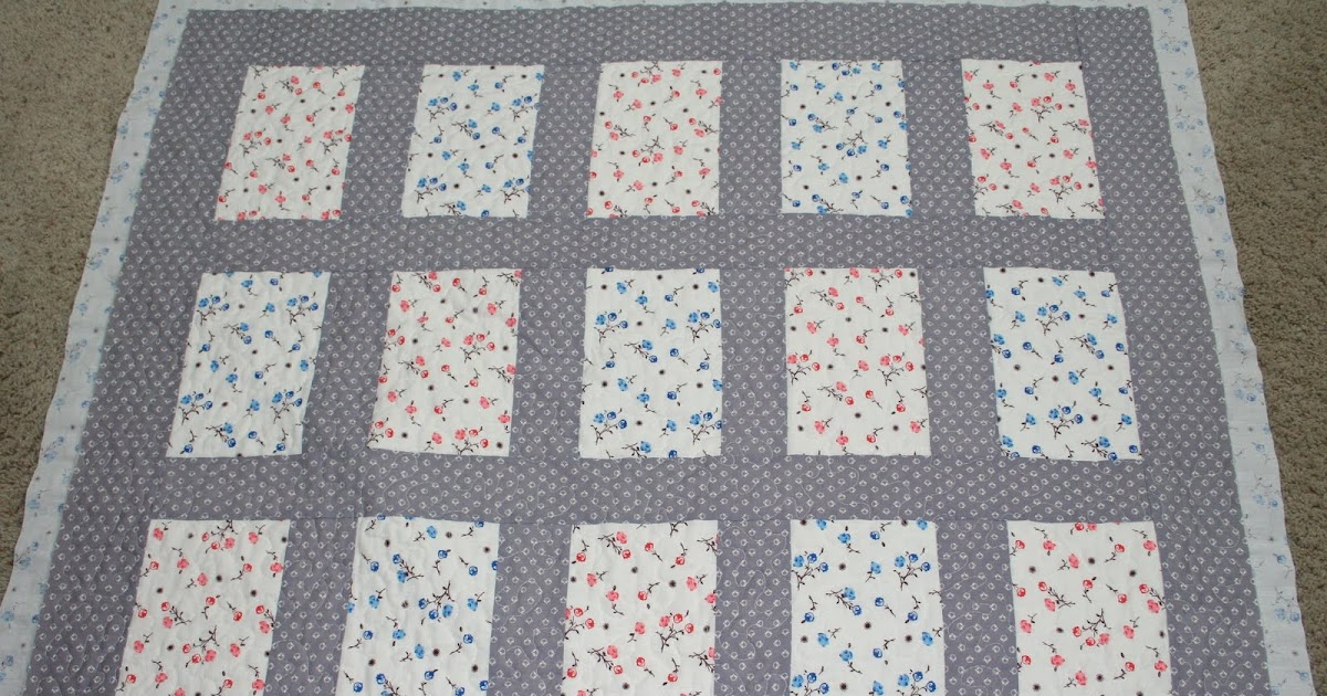 Another Ordinary Life Quilt Binding Tutorial