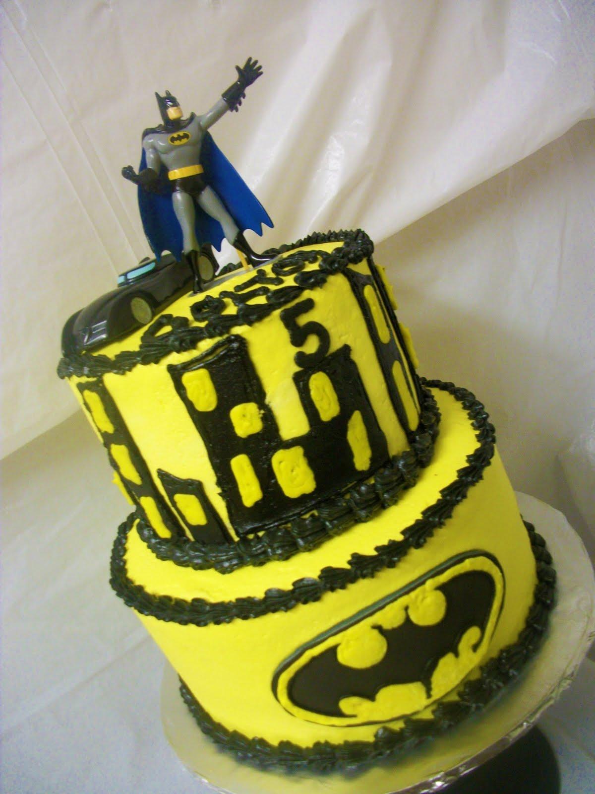 Tasty Cakes Batman Cake Amp Cupcakes