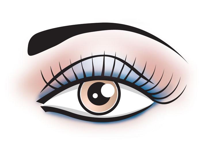 Eye Makeup Clipart - Mugeek Vidalondon
