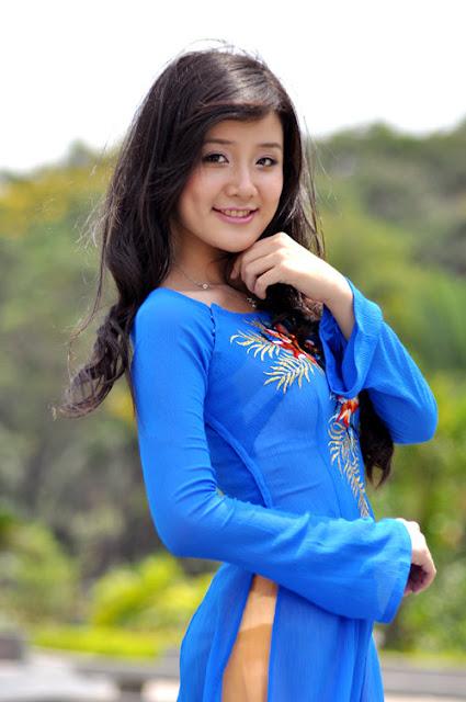 Hot Girls Vietnamese Sexy Xuan Mai - Miss Teen 2009 In Ao -6484