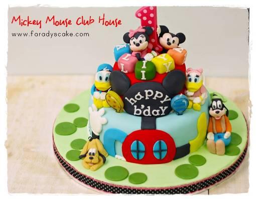 Mickey Cake Design