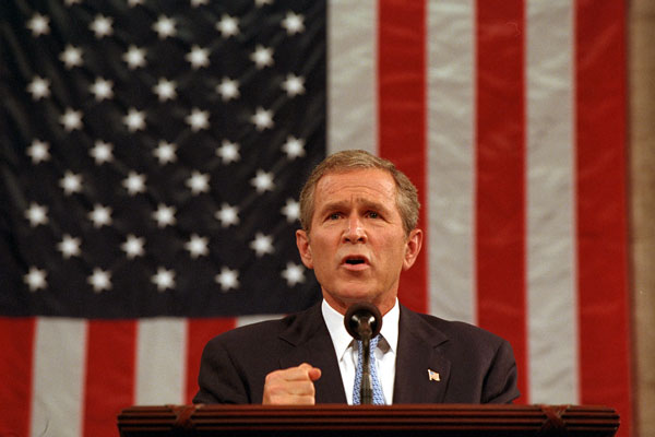 George Bush September 20, 2001 - 911 Attacks