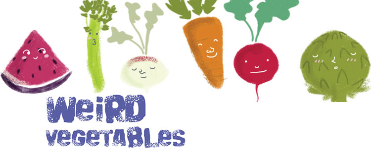 weird vegetables