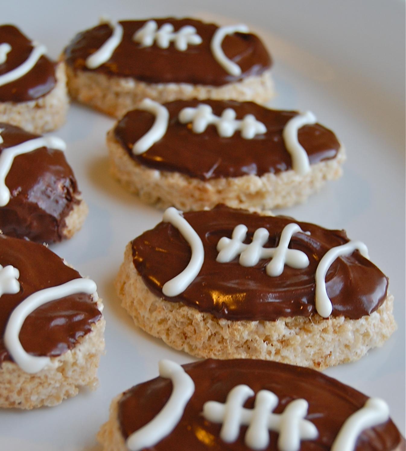 Football Treats and Snacks - Hoosier Homemade |Super Bowl Goodies