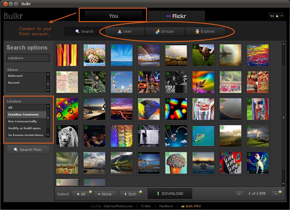 Bulkr - Backup, Browse & Download Photos On Flickr