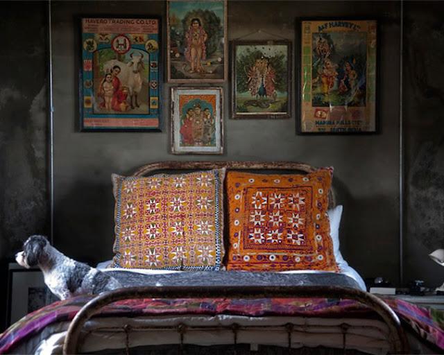 Frangipani Décor: India-inspired Bedroom