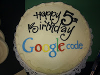 Google Code 5th Birthday